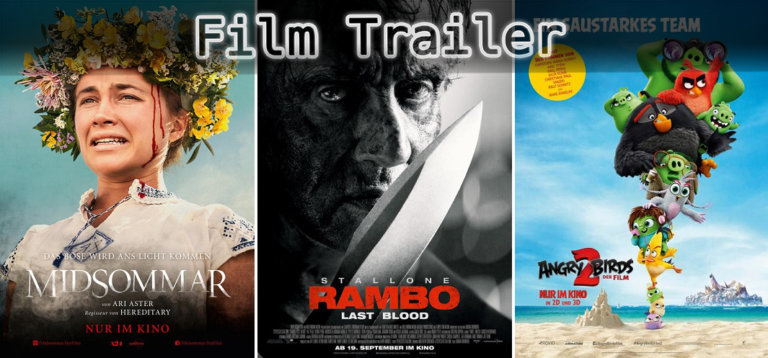 It's Film Trailer Time: Midsommar, Rambo & Angry Birds