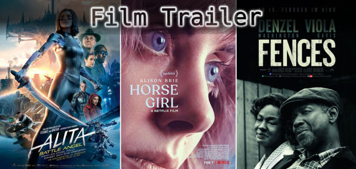 It's Film Trailer Time: Alita, Horse Girl & Fences