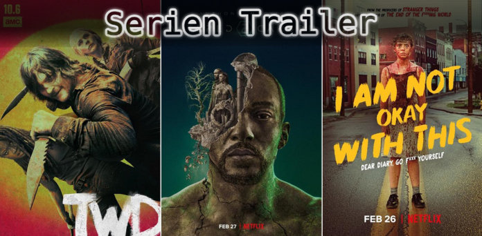 It's Serien Trailer Time: Walking Dead, Altered Carbon & I Am Not Okay With This