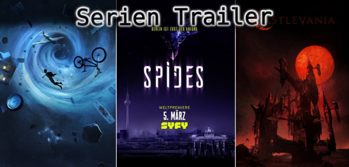 It's Serien Trailer Time: Amazing Stories, Spides & Castlevania