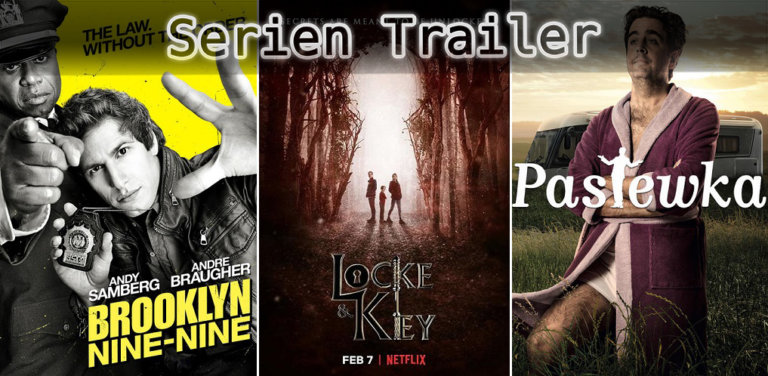 It's Serien Trailer Time: Brooklyn 99, Locke & Key & Pastewka