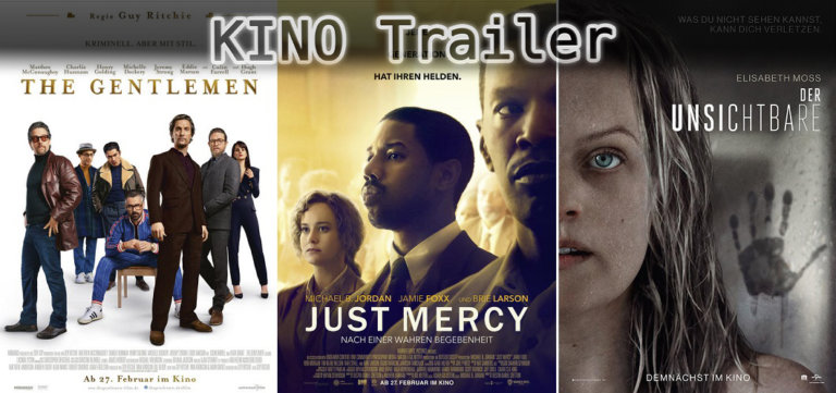 It's Kino Trailer Time: Gentlemen, Just Mercy & Der Unsichtbare