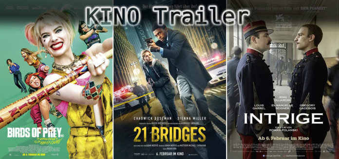 It's Kino Trailer Time: Harley Quinn, 21 Bridges & Intrige