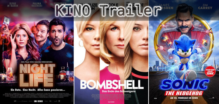 It's Kino Trailer Time: Nightlife, Bombshell & Sonic