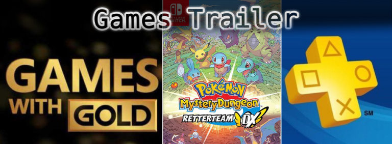 It's Games Trailer Time: Pokémon, Games with Gold & PS Plus
