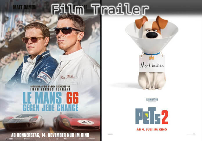 It's Film Trailer Time: Coffee & Kareem, Le Mans 66 & Pets