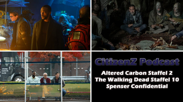 Altered Carbon Staffel 2, The Walking Dead und Spenser Confidential [Podcast]