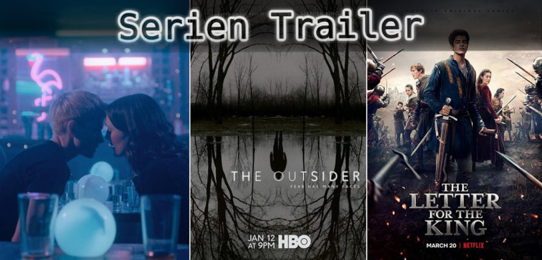 It's Serien Trailer Time: Feel Good, Outsider & Der Brief für den König