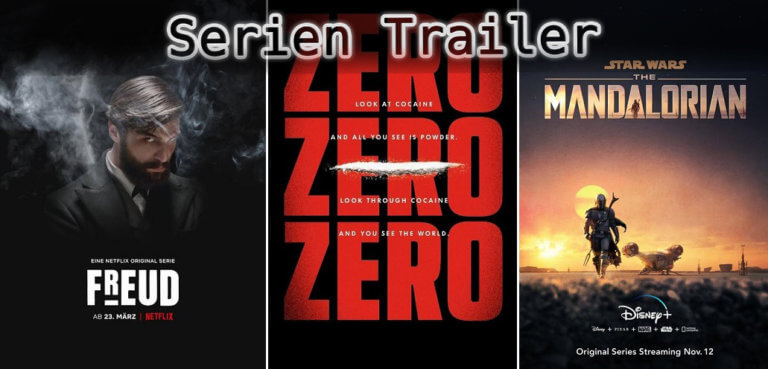 It's Serien Trailer Time: Freud, ZeroZeroZero & Mandalorian