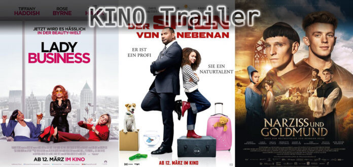 Kino Poster Lady Business, Spion von nebenan & Narziss und Goldmund