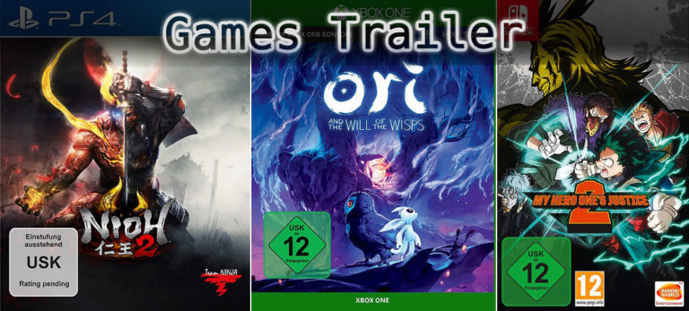 It's Games Trailer Time: Nioh, Ori & My Hero One's Justice