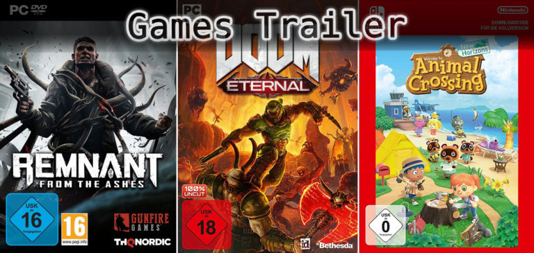 It's Games Trailer Time: Remnant, Doom & Animal Crossing
