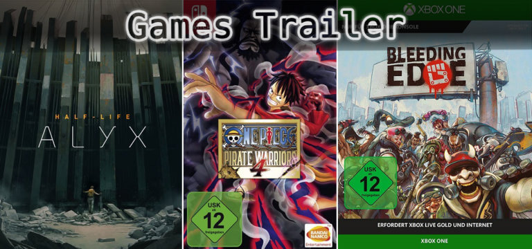 It's Games Trailer Time: Half-Life, One Piece & Bleeding Edge
