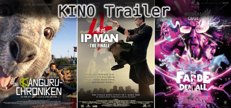 It's Kino Trailer Time: Känguru-Chroniken, Ip Man & Die Farbe aus dem All