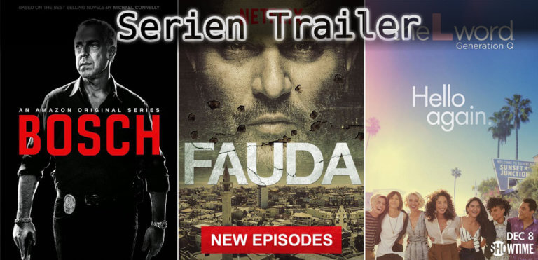It's Serien Trailer Time: Bosch, Fauda & The L Word