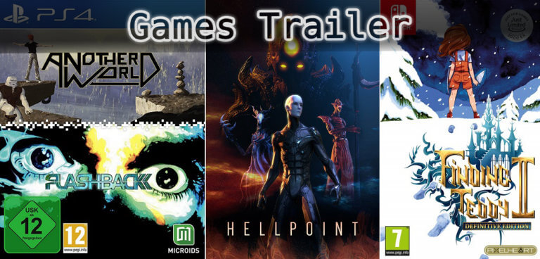 It's Games Trailer Time: Flashback, Hellpoint & Finding Teddy