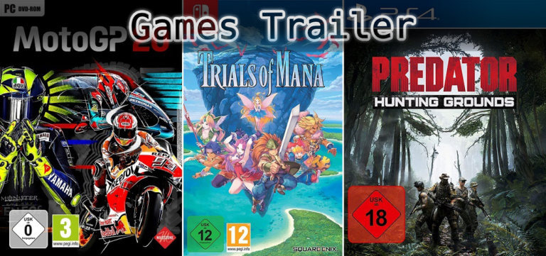 It's Games Trailer Time: MotoGP, Trials of Mana & Predator