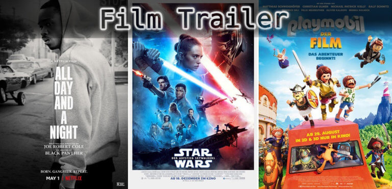 It's Film Trailer Time: All Day and a Night, Star Wars & Playmobil