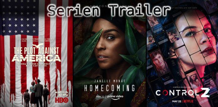 It's Serien Trailer Time: Homecoming, Control Z & Plot Against America