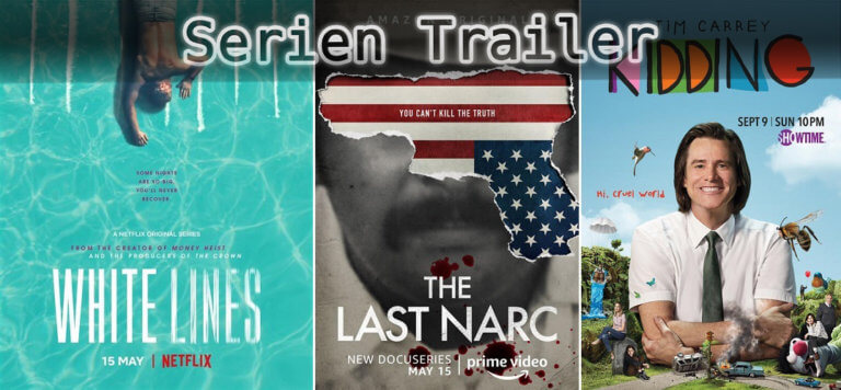 It's Serien Trailer Time: White Lines, Last Narc & Kidding