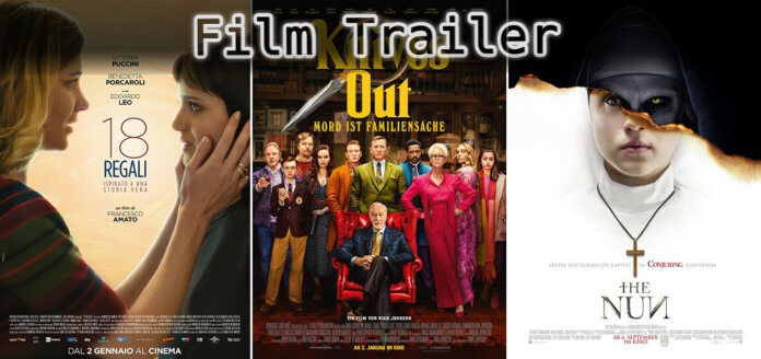It's Film Trailer Time: 18 Geschenke, Knives Out & The Nun
