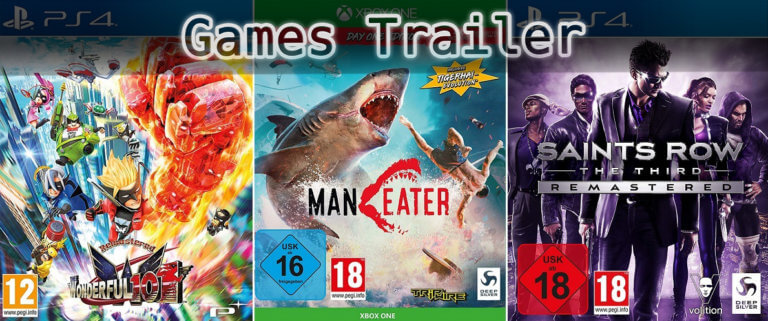 It's Games Trailer Time: Wonderful 101, Maneater & Saints Row