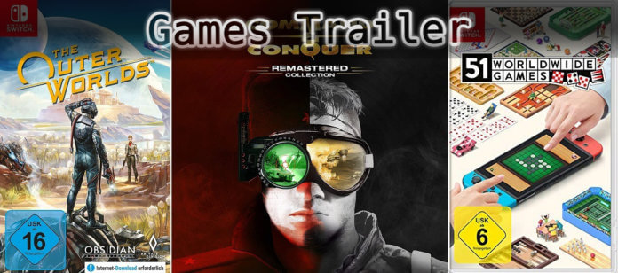 It's Games Trailer Time: Outer Worlds, Command & Conquer & Worldwide Games