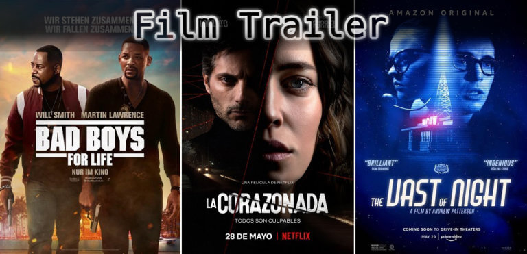 It's Film Trailer Time: Bad Boys, Intuition & The Vast of Night