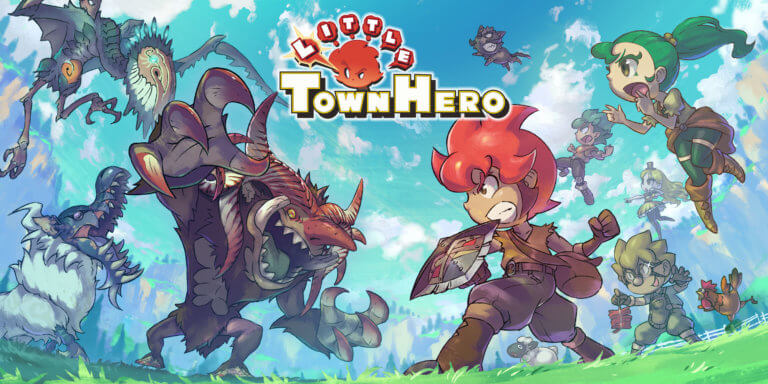 Little Town Hero für Switch und PS4