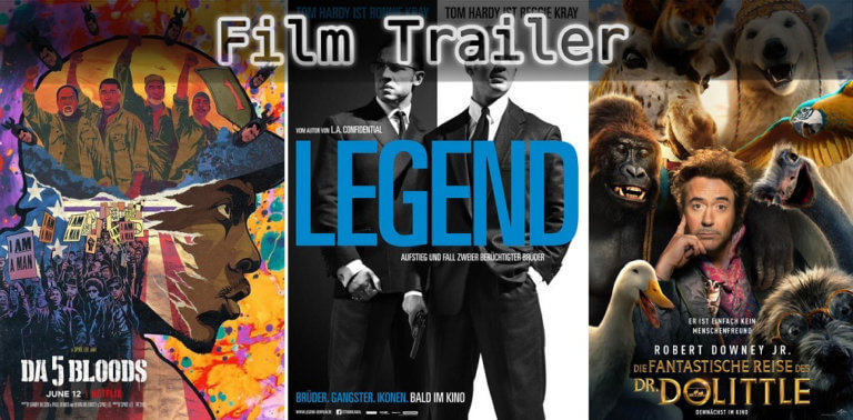 It's Film Trailer Time: Da 5 Bloods, Legend & Dr. Dolittle