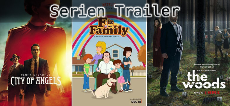 It's Serien Trailer Time: Penny Dreadful, F is for Family, Grab im Wald
