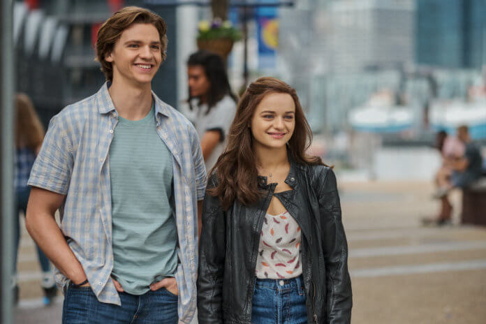 The Kissing Booth 2: Joel Courtney als Lee Flynn, Joey King als Shelly 'Elle' Evans of The Kissing Booth 2.