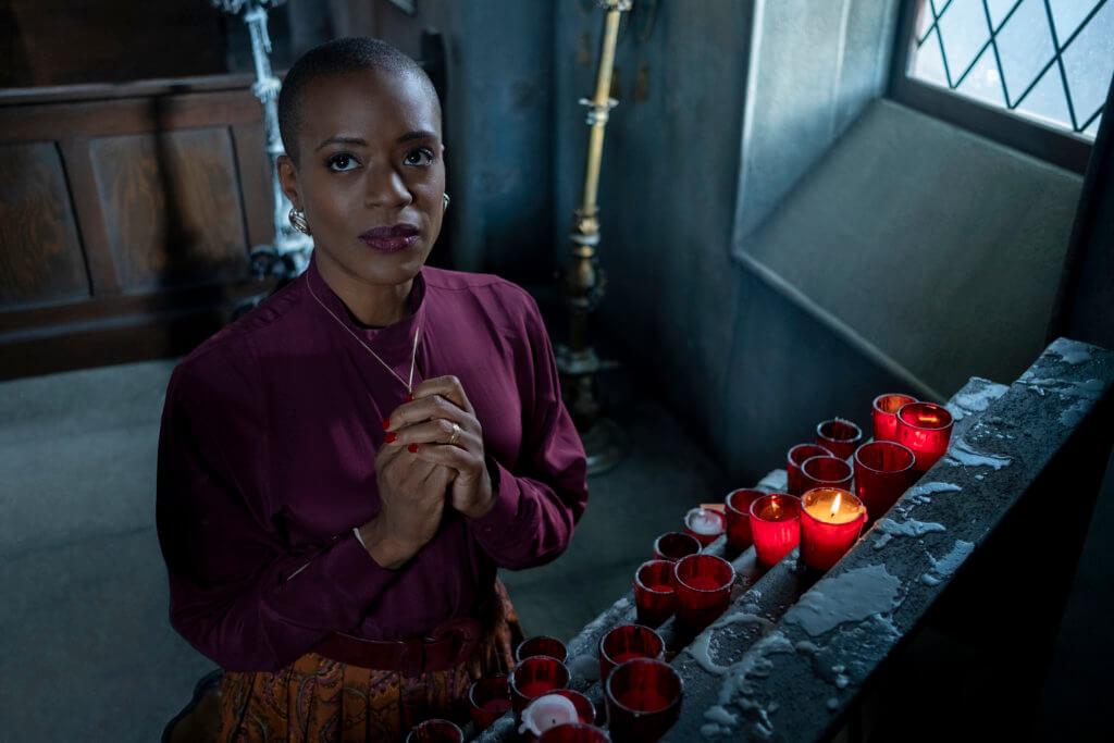 Spuk in Bly Manor T'NIA MILLER als HANNAH in THE HAUNTING OF BLY MANOR